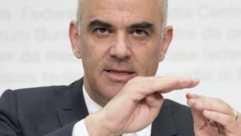 Alain Berset will AHV sanieren – Ausschnitte von der Medienkonferenz am Donnerstag.