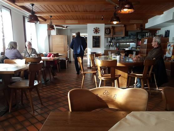 Im Gasthof Krone in Rietheim kostet das Kafi Crème 3.50.