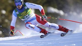 Fällt nach einer Knieverletzung für unbestimmte Zeit aus: Niels Hintermann
