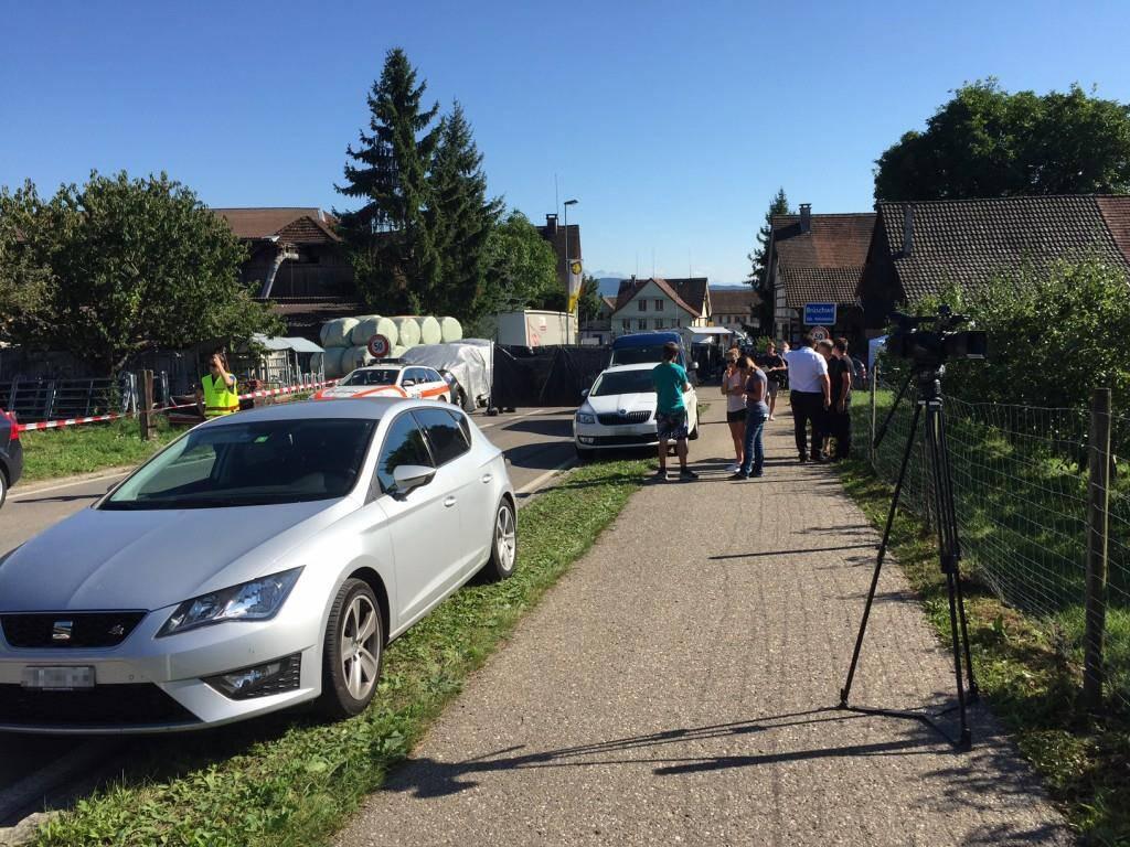 Der Polizeieinsatz in Hefenhofen