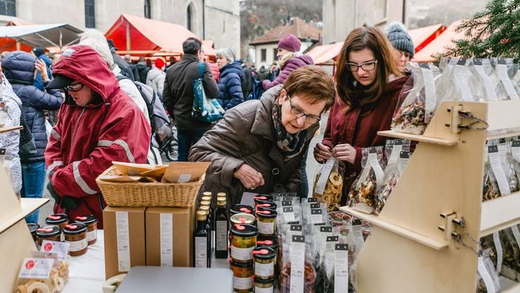 Impressionen vom Badener Adventsmarkt 2018.