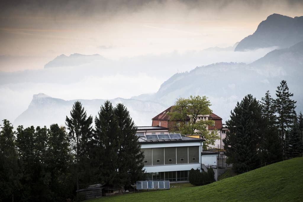 Asylzentrum Sonnenberg in Vilters (© Keystone)