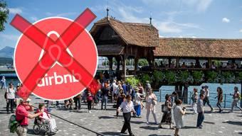 Auch in Luzern gibt es aktuell eine rege Diskussion darüber, ob man Airbnb einschränken soll oder nicht.