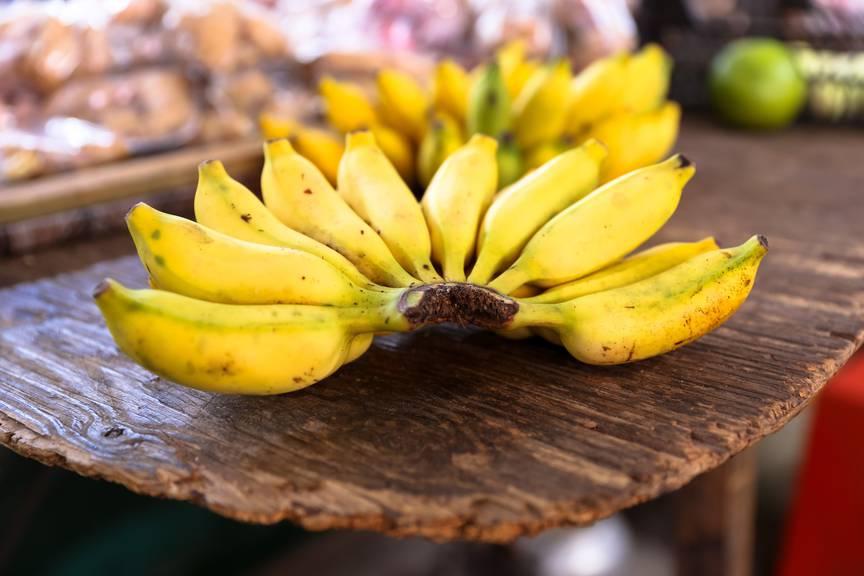 Einige braune Flecken machen Bananen erst so richtig gut. (rar)