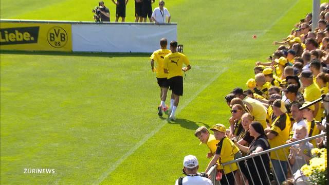 Borussia Dortmund färbt Bad Ragaz schwarz und gelb