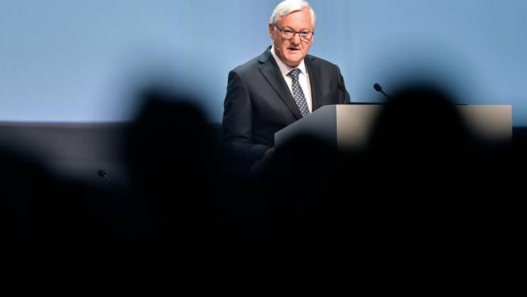 ABB-Präsident Peter Voser: Er will eine neue Firmenkultur etablieren.