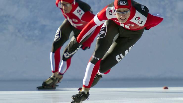 Oberbichler stellte nach seinem Neustart in dieser Saison einen neuen Schweizer Rekord auf.