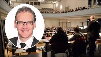 Thomas Geissmann kritisiert in einer Fraktionserklärung den Gemeinderat deutlich. (Archivbild)