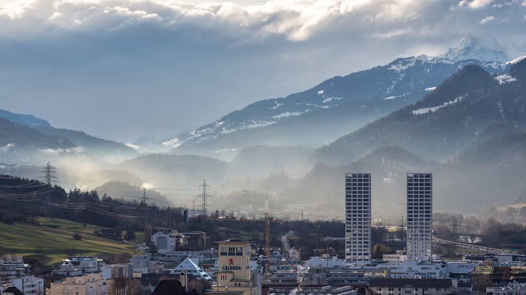 Die Bevölkerung im Hauptort Chur wächst nur geringfügig.