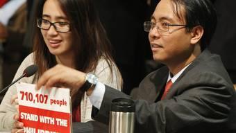 Der philippinische Delegierte hat seinen Hungersteik beendet