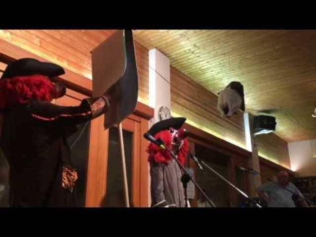 «d' Schnapsbagge» an der diesjährigen Fasnacht im Allmendhaus Basel