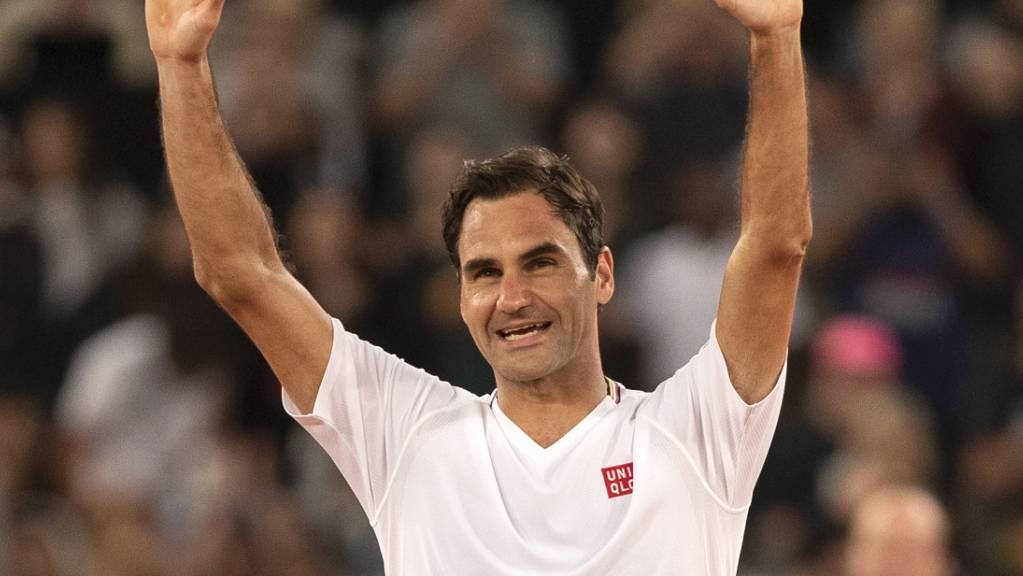 Roger Federer nach seinem bislang letzten Einsatz am «Match for Africa» in Kapstadt Anfang Februar.