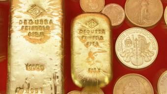 Der Goldpreis sinkt weiter