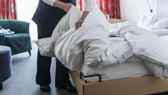 Hotels in Zürich und Genf reagieren laut einer Studie nur mittelmässig auf Online-Bewertungen.Christian Beutler/KEystone
