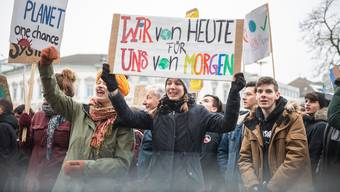 2. Klima-Demo in Solothurn