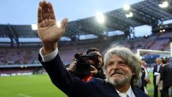 Massimo Ferrero, der extravagante Präsident von Sampdoria Genua.