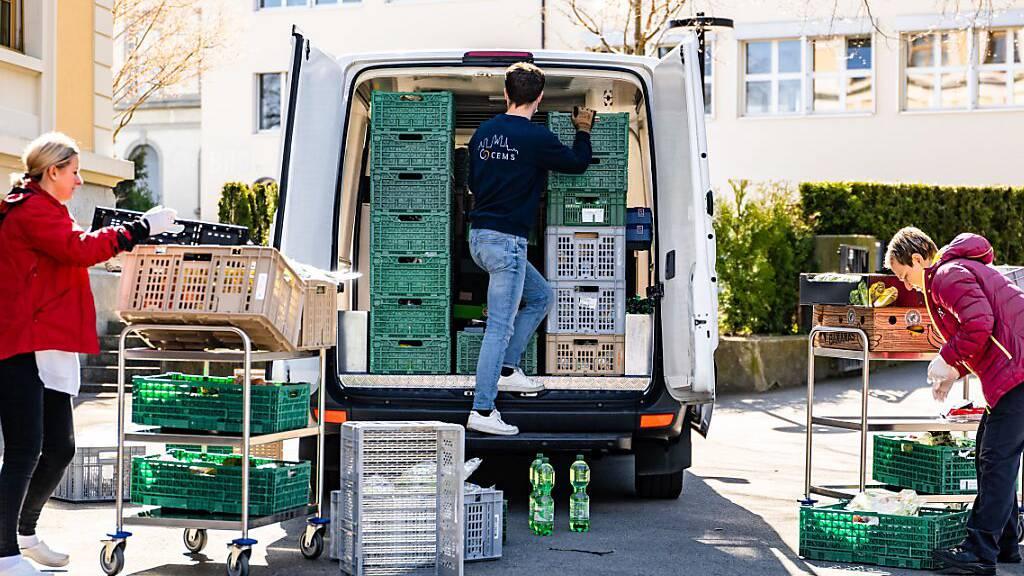 Schweizer Tafel sammelt über 4100 Tonnen Lebensmittel