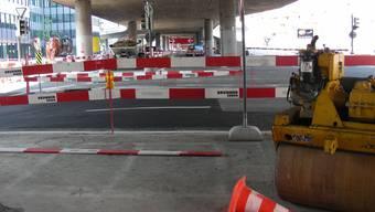 «Hoch dringlich»: Mit der Reparatur der Brückenpfeiler wurde bereits begonnen – unter anderem wird die Hardbrücke erdbebensicher.