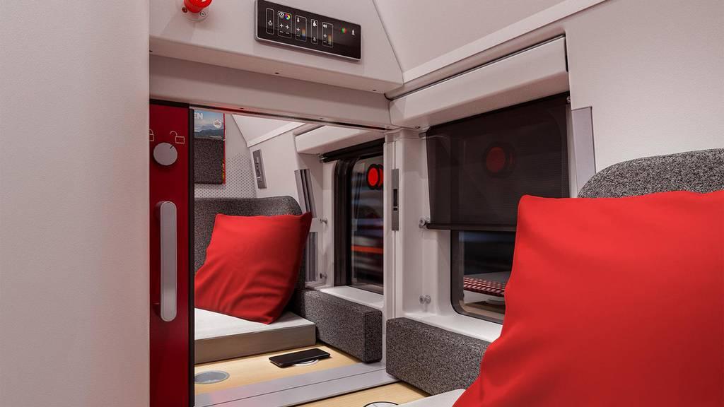 Neue Nachtzüge sollen mehr Reise-Komfort ermöglichen