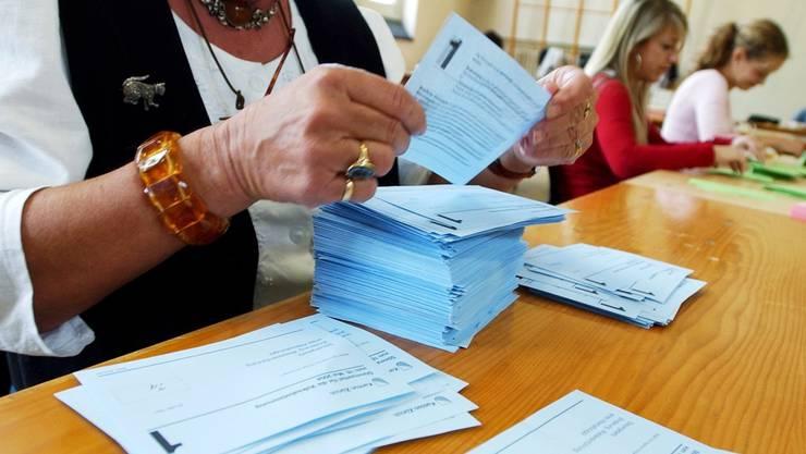 Allein der Druck der Nationalratswahlzettel brauchte 90 Tonnen Papier. (Themenbild)