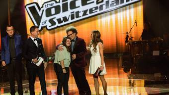 Eine der SRG-Sendungen: The Voice of Switzerland