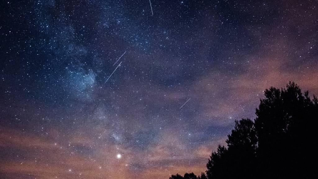 Heute leuchten die Perseiden am Nachthimmel