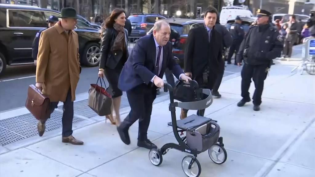 Harvey Weinstein zu 23 Jahren Haft verurteilt