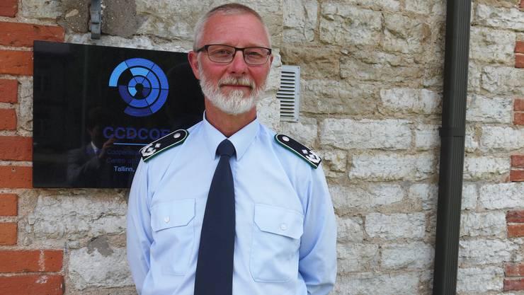 Franz Lantenhammer ist stellvertretender Leiter des Nato-Cyber-Abwehrzentrums in Tallinn.