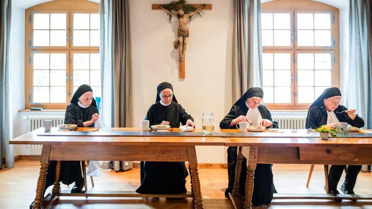 Im Kloster Fahr speisen nicht nur Nonnen gut.