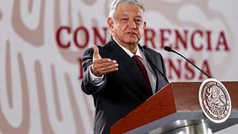 Wegen der spanischen Eroberung im 16. Jahrhundert: Mexikos Präsident Andres Manuel Lopez Obrador will vom Papst und dem König Spaniens eine Entschuldigung. (Archivbild)