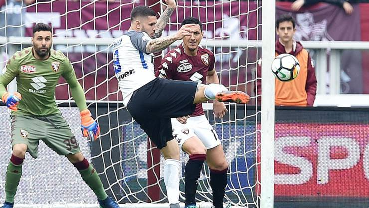 Mauro Icardi und seine Kollegen bemühten sich vergebens - bei Torino verlor Inter 0:1