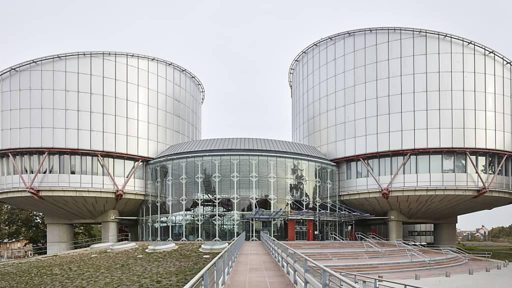 Der Europäische Gerichtshof für Menschenrechte hat die Schweiz wegen Verletzung der Menschenrechtskonvention verurteilt. (Archivbild)