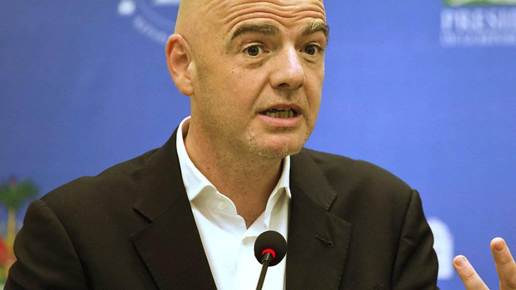 Gianni Infantino und das FIFA-Council legten die Verteilung der Startplätze für die WM-Endrunde 2026 fest