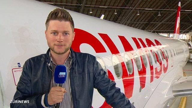 Swiss präsentiert in Kloten neuen Jet