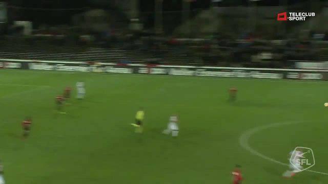 Challenge League, 2017/2018, 17. Runde, FC Aarau - Chiasso, 2:0 Alessandro Ciarrocchi
