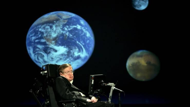 Kosmologie - die Wissenschaft der Entstehung des Universums - war eines der Hauptforschungsgebiete von Hawking. Nach seinem Tod wurde nun die letzte wissenschaftliche Arbeit des theoretischen Physikers auf diesem Gebiet veröffentlicht. (Archivbild)