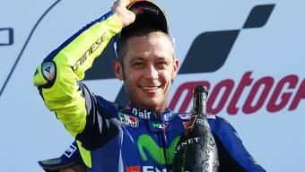 Soll gemäss italienischen Medienberichten schwer gestürzt sein: Superstar Valentino Rossi