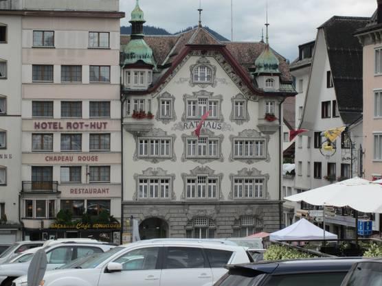 Rathaus von Einsiedeln