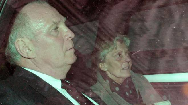 Uli Hoeness und seine Frau Susanne. Foto: Keystone