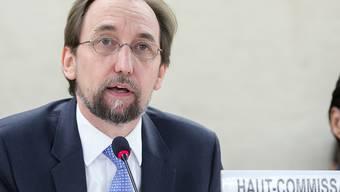 Für den den Uno-Menschenrechtskommissar Said Raad al-Hussein können noch so viele Phrasen die Fakten nicht übertünchen: Die Rohingya fliehen weiter vor Verfolgung in Myanmar und riskieren ihr Leben bei der Flucht. (Archivbild)