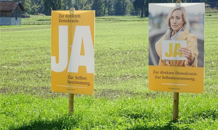Die SVP überraschte mit einer smarten und unaufgeregten Plakatkampagne. In den Podien und in den sozialen Netzwerken waren die Bandagen allerdings härter.