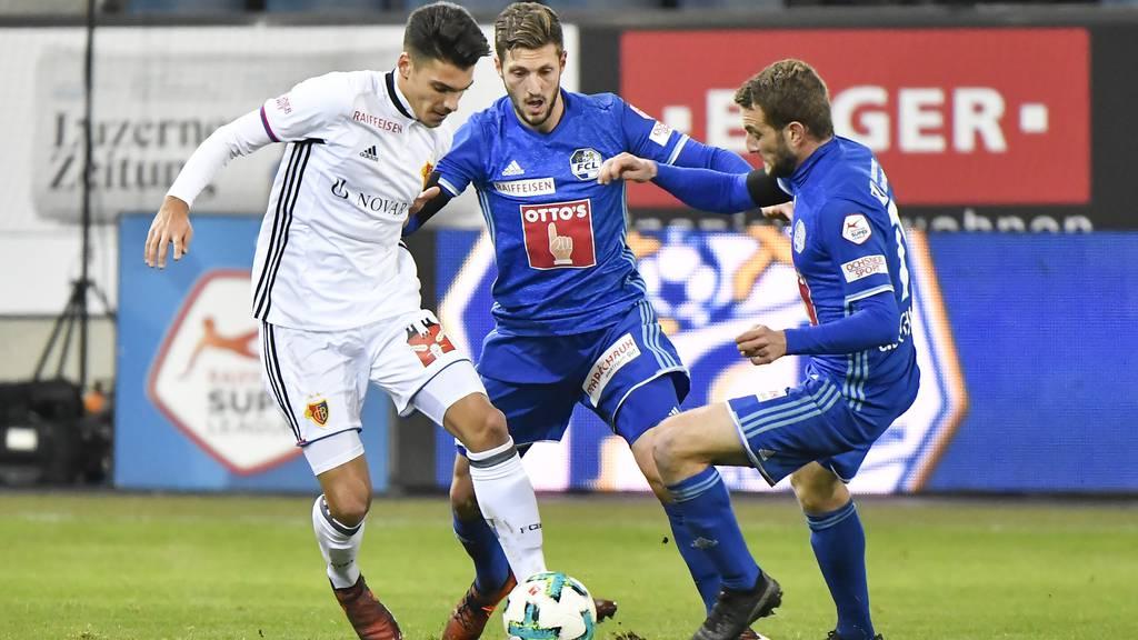 Der FCL will die Verunsicherung von Basel nützen
