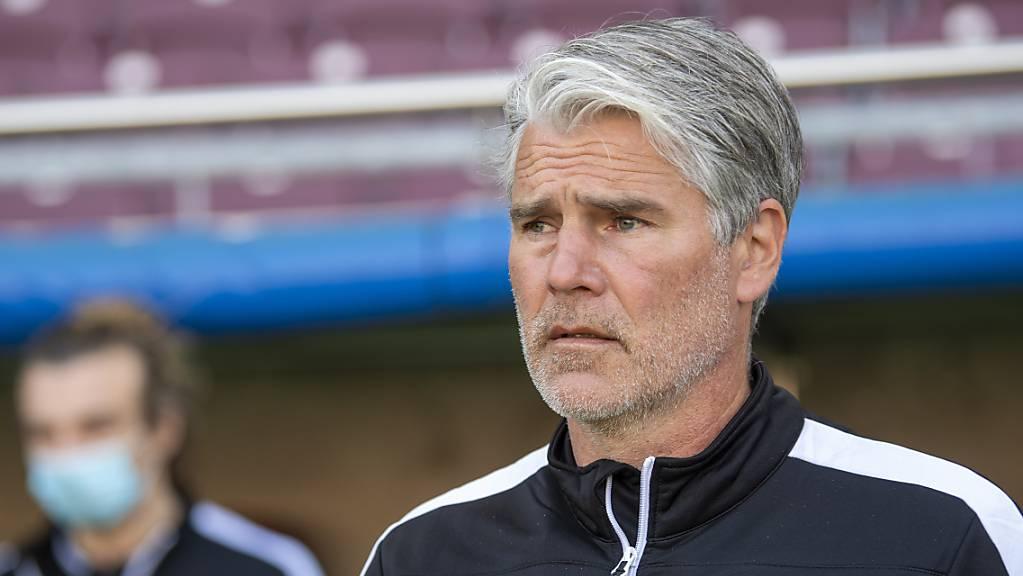 Marco Walker ärgerte sich über die vielen vergebenen Torchancen seiner Mannschaft.