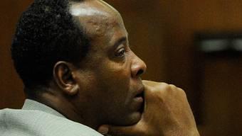 Der Herzspezialist Conrad Murray vor Gericht