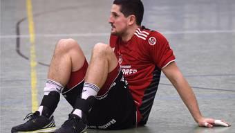 Enttäuschter Topskorer Ljubomir Josic: Der HSC Suhr Aarau ist wieder zweitklassig.