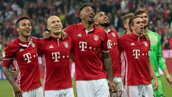 Der FC Bayern München gewinnt das Spitzenspiel der Bundesliga gegen Dortmund klar 4:1.