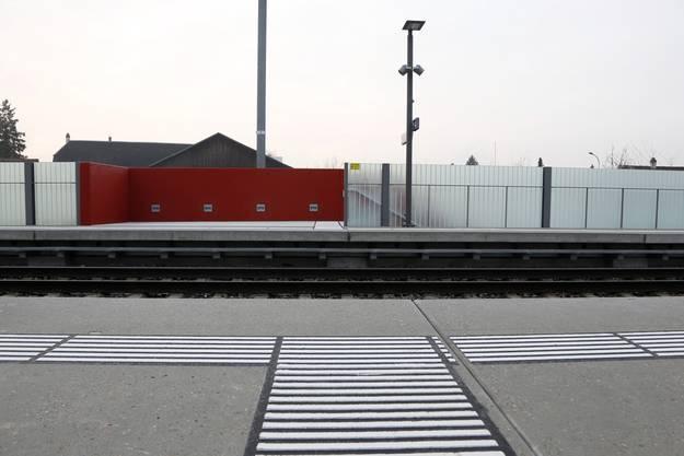 Die neue Haltestelle Solothurn Allmend