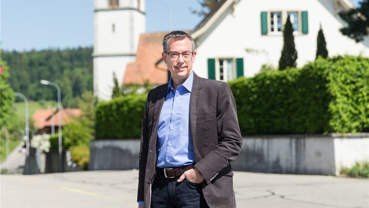 «Fluktuation auf ein gesundes Niveau bringen»: Präsident Uwe Matthiessen (fotografiert in Reitnau).claudio Thoma