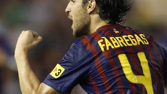 Cesc Fabregas verletzte sich im Training