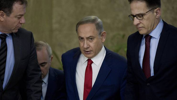 Wird Mitte Februar im Weissen Haus erwartet: Israels Premier Benjamin Netanjahu.